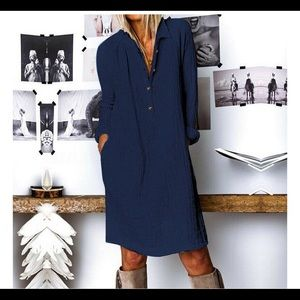 Button down dress 3 for $30